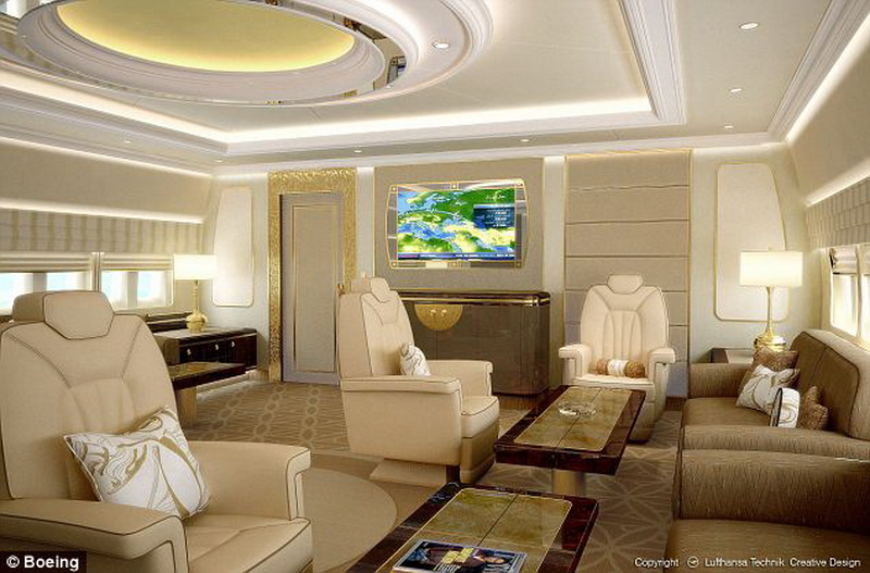 Inside The World's Finest Private Jets - Daniel Roman Abramovich's Boeing 767-33A ER interior