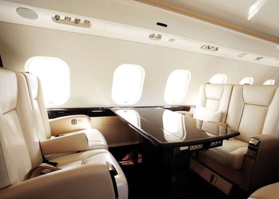 Inside The World's Finest Private Jets - Vistajet Global 6000