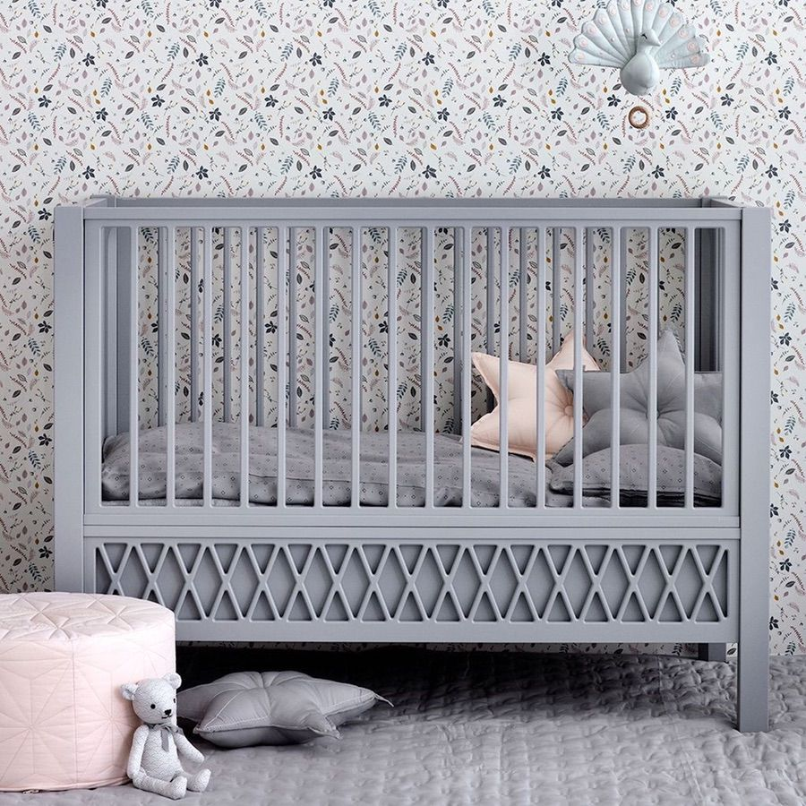Using Grey In Your Home - Grey Cot - Image Via Bonordic.co.uk