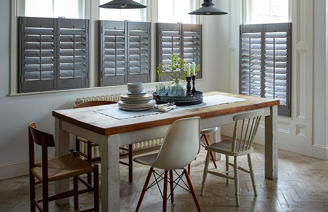 Enhance Your Home With shutters - Image Via TheShutterCo.co.uk