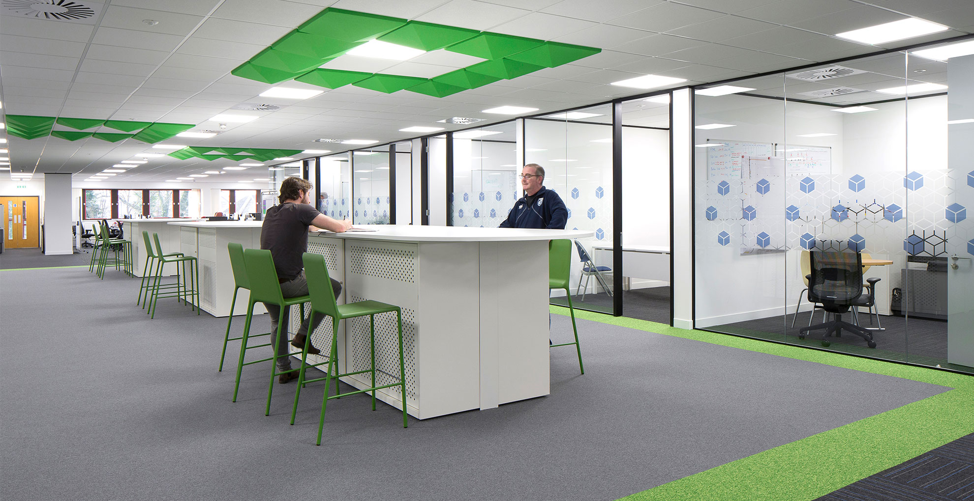 What Your Office Design Says About You To Visitors And Interviewees - Image Of Cubic Transportation Systems Office - Image Via maris-interiors.co.uk