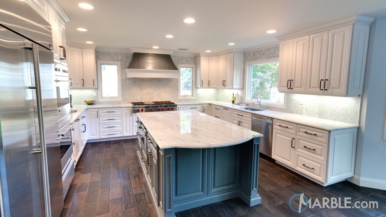 Why You Should Consider Quartzite Counters For Your Kitchen - Image Via Marble.com