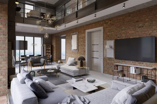 8 Impractical Design Trends that Are Gorgeous but Have to Go - Vaulted Ceilings In Loft Apartment