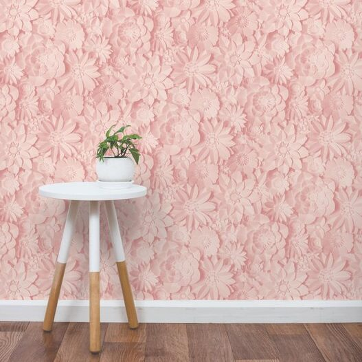 Dimensions Floral Wallpaper By East Urban Home