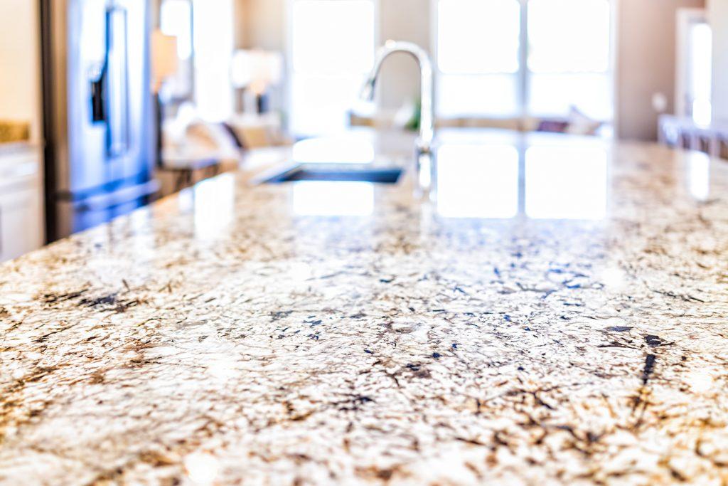 Granite counter top, granite worktop