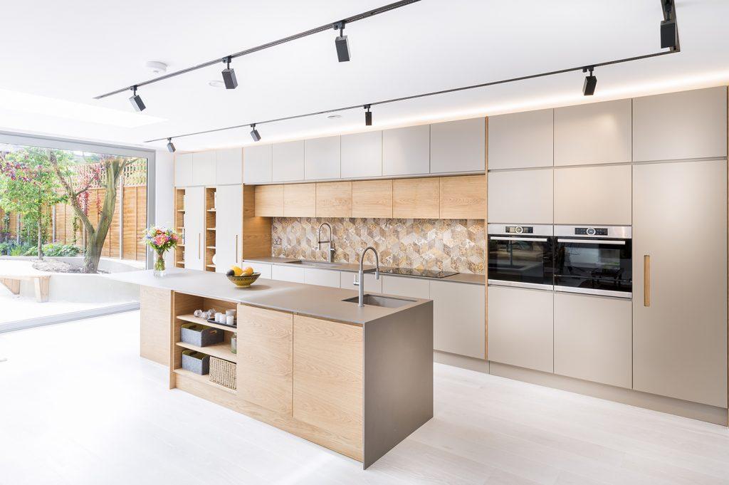 Designer Kitchen in openplan home