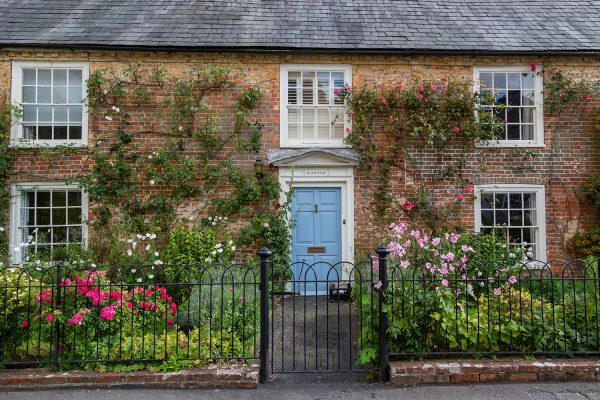 Old Cottage With Sash Windows