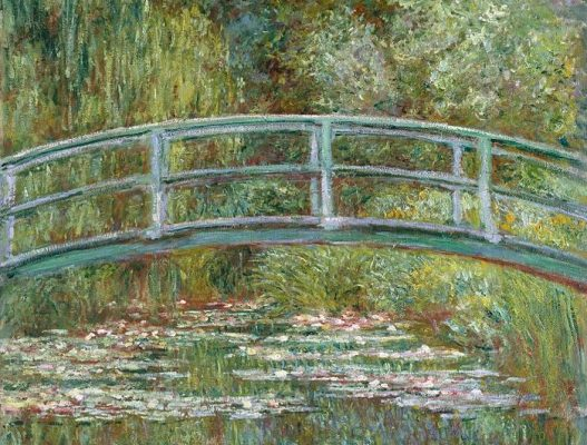 Claude Oscar Monet's The Water Lily Pond.